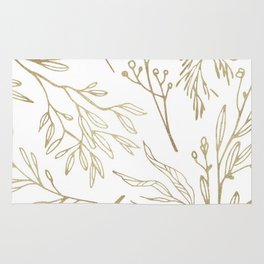 Golden Nature Rug