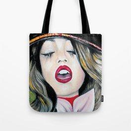 Bohemian Girl Tote Bag