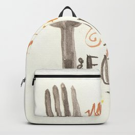 May The Fork Be With You Backpack