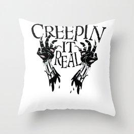 Halloween Zombie Dead Undead Creepy Sexy Costume Throw Pillow