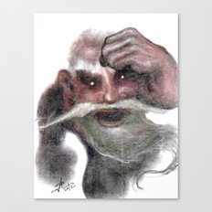 Red Ogre Canvas Print