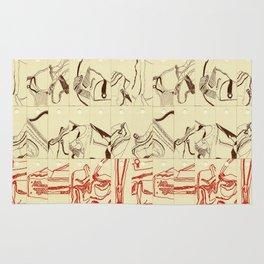 Bag Design Illustration Rug