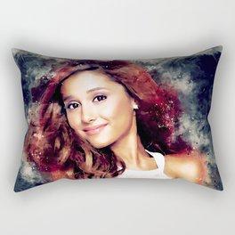 Beautiful Ariana Sketch Rectangular Pillow