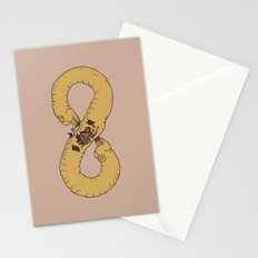 Infinity of Pug Stationery Cards