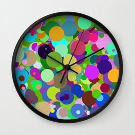 Circles #12 - 03172017 Wall Clock