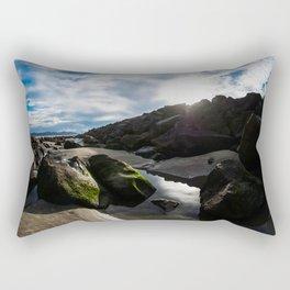 Shallow Puddle Rectangular Pillow