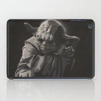 yoda iPad Cases featuring Yoda by Sharky