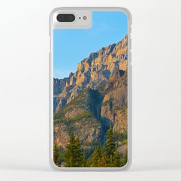 Mt. Kerkeslin in Jasper National Park Clear iPhone Case