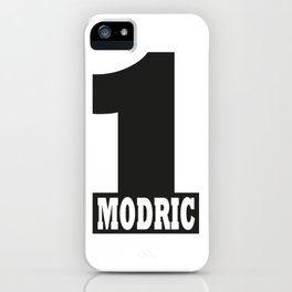 Luka Modric named number 1 of the world iPhone Case