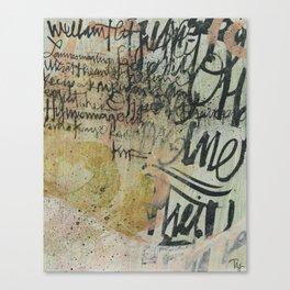 Decimator 1 Canvas Print