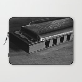 Black, White, & the Blues Laptop Sleeve