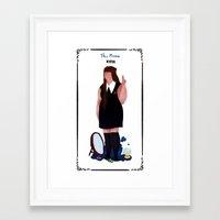 nan lawson Framed Art Prints featuring nan by quentinschall