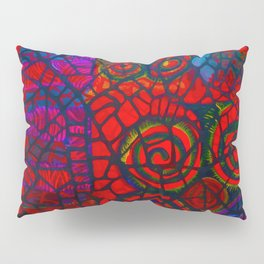 Ram's Horns 2013 By Jackson Shuri (Adinkra Symbol) Pillow Sham