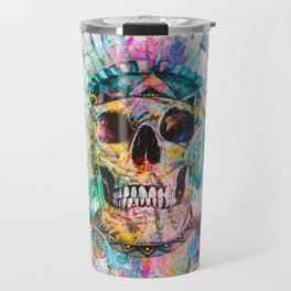 SKULL - WILD SPRIT Travel Mug