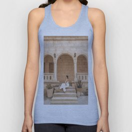 On the Steps Unisex Tank Top