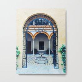 Placa de Alcazar Metal Print