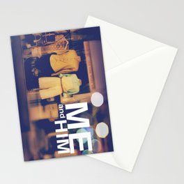 Me and Him Stationery Cards