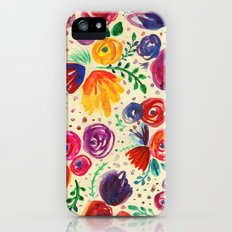 Summer Fruits Floral iPhone (5, 5s) Slim Case