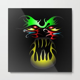 Tatoo Metal Print