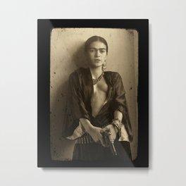Frida-kahlo Poster Metal Print