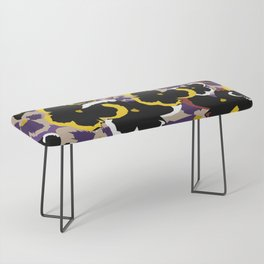 Pansy Love Bench