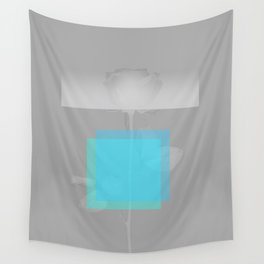 Blue Structural Disorder Wall Tapestry