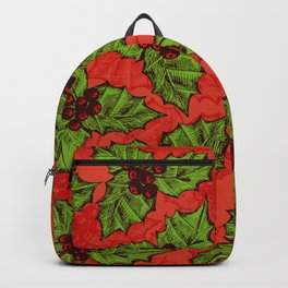 Holly berry Backpack