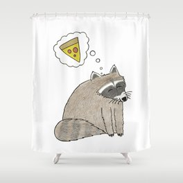Pizza Dreams Shower Curtain