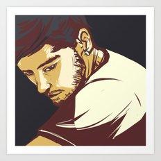 Malik Art Print
