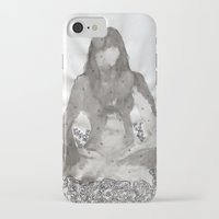 meditation iPhone & iPod Cases featuring Meditation by Condor