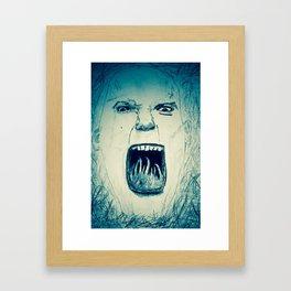 Rally Cry. Framed Art Print