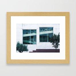 Find The Reflection Framed Art Print