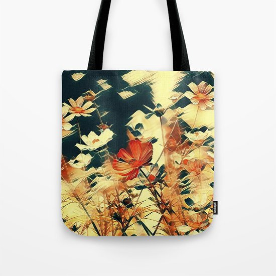 Cosmos in Abstract Tote Bag