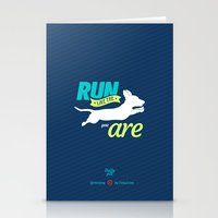 dota Stationery Cards featuring Run Like Dogs by DotaZone Store