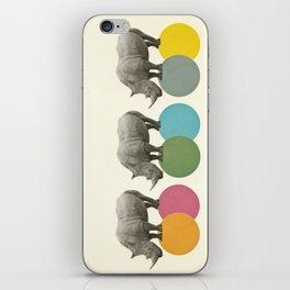 Rambling Rhinos iPhone Skin