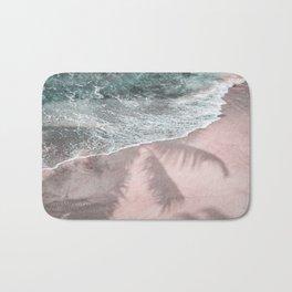 Pink Paradise Beach Bath Mat