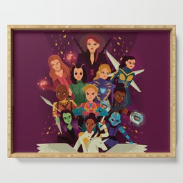 SHEroes Serving Tray