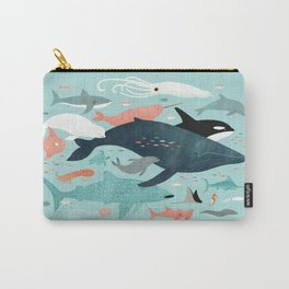 Under the Sea Menagerie Carry-All Pouch