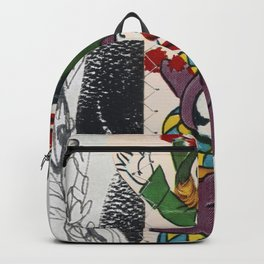 Valentine Clowns Backpack
