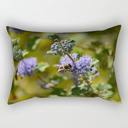 Bee Bloom Rectangular Pillow