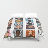 oz Duvet Covers featuring Oz - tv series characters  by newborn graphics