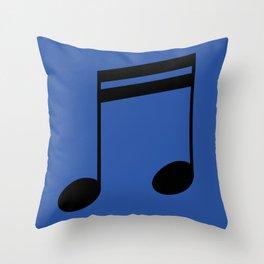 Sixteenth Notes Throw Pillow