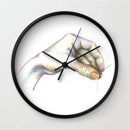Time for Mending Wall Clock