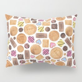 Selection of Sweets, Candy, Cakes and Biscuits Pillow Sham
