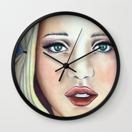 Babydoll sucker Wall Clock