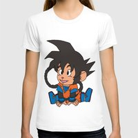 goku T-shirts featuring Monkey Goku by Kame Nico