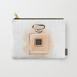 Orange Perfume Carry-All Pouch