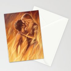True Love In Flagranti Stationery Cards