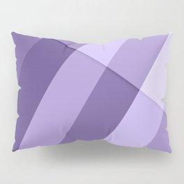 Ultra violet purple modern geometric lines Pillow Sham