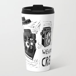 Weapons Of Mass Creation - Photography (blockprint) Travel Mug